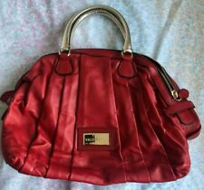 Vintage Valentino Garavani Bow Red Patent Leather Dust Bag Included