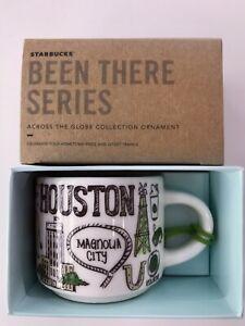 Starbucks 2oz HOUSTON Texas Demi Tasse BEEN THERE mug Ornament Cup Mini Mug NIB