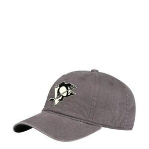 Pittsburgh Penguins NHL Adidas Adjustable Strap Hat, Grey