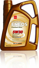 Genuine Japanese Fully Synthetic Engine Motor Oil ENEOS PREMIUM ULTRA 5W30 4L