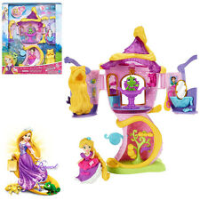Disney Princess Little Kingdom Rapunzel's Stylin' Tower Kid Figures Play Set Toy