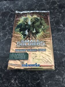 Small Soldiers Trading Cards NEW SEALED Booster Pack 1998 Set Inkworks