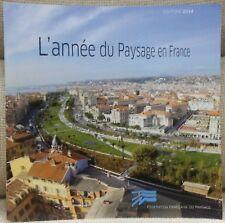 L'ANNEE DU PAYSAGE EN FRANCE EDITION 2014 FFP HORS COMMERCE PORT A PRIX COUTANT