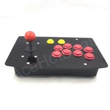 10 Buttons PC USB Arcade Joystick Gamepad Wired Games Controller Acrylic Panel
