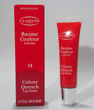 Clarins Colour Quench Lip Balm 14 Blood Orange , 15ml
