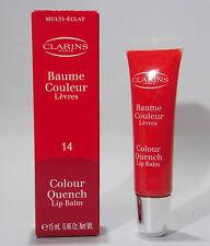 Clarins Colour Quench Lip Balm 14 Blood Orange , 15ml