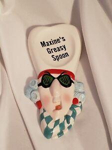 Maxine's Greasy Spoon Rest ~ Hallmark Ceramic Collectible Glass Kitchen