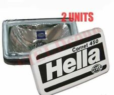 2 Universal Hella Comet 450 Spot Driving Light With Cover & H3 Bulb 55W 12V CAD