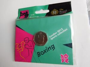 Olympic 50p Coin BOXING London 2012 in Original packet SEALED