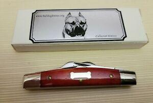 Great Eastern Cutlery Bulldog Brand Congress 2010 Issue RARE Dogbone Shield