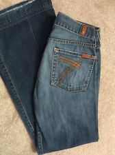 Seven 7 for All Mankind Dojo Blue Jeans Size 28 Womens