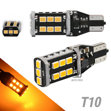 T10 192 SMD LED Amber Yellow Interior Light Bulbs 60W High Power Chip