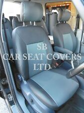 FORD S MAX CAR SEAT COVERS 61 MODEL GREY LEATHERETTE MADE TO MEASURE