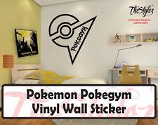 Pokemon Pokegym Custom Wall Vinyl Sticker