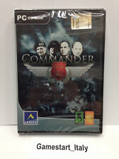 COMMANDER EUROPE AT WAR (PC) VIDEOGIOCO NUOVO SIGILLATO - NEW SELAED