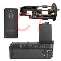 Battery Grip For Canon EOS 450D 500D 1000D XS XSi T1i+2 x LP-E5+IR remote DSLR