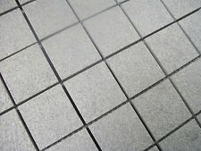 SAMPLE OF NON SLIP PORCELAIN MOSAICS - GREY GLITTER SPARKLE
