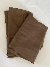 Set Of 2 New Brown California King Pillow Shams