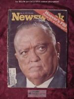 NEWSWEEK Magazine May 10 1971 J. EDGAR HOOVER FBI Catholic Priests South Africa