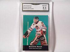 Dominik Hasek GRADED ROOKIE!! 1991/92 Parkhurst #449 Blackhawks HOFer 8.5-2