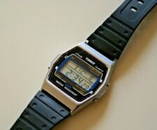 Timex T Cell Alarm Quartz LCD Watch New Battery Accurate Time