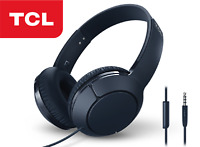 TCL MTRO200 Headset Wired Headphones - Powerful Bass Headband with Built-in Mic