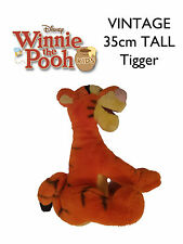 Vintage 35cm Soft Toy Plush Sleepy TIGGER Genuine from Winnie the Pooh with Hat