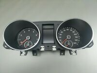Orig VW GOLF6 Cabrio Kombiinstrument Tacho VDO Speedometer Benzin MPH 5K7920980