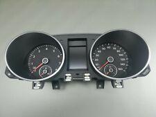Orig VW GOLF6 Cabriolet Instrument Cluster Tachometer VDO Speedometer Petrol Mph