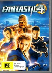 Fantastic Four (DVD, 2005)  #ABC3