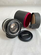 Konica Hexanon AR 28mm f/3.5 lens (Good Condition)