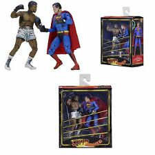 NECA MUHAMMAD ALI VS SUPERMAN ACTION FIGURE 2 Pack-Dc Comics Edizione Speciale