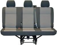 Replacement VW Transporter T6 Rear Seat Cover Austin Titanium Black Cloth OEM
