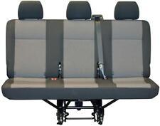OEM de reemplazo cubierta de asiento VW Transporter T5 T6 Cubierta de asiento trasero de triple Austin
