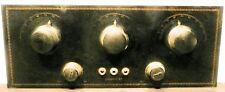 vintage*  BESTONE #70 radio:  Untested CHASSIS w/ BAKELITE FACEPLATE & KNOBS
