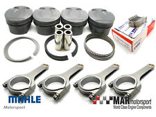 MAHLE Motorsport Pistons, Bearings & Steel H Beam Rods, ARP,  R56 MINI, N14