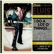 Elvis Presley CD I Do A Lot O' Things, But I Can't Fly - Live in Las Vegas 1971