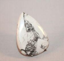 Natural Howlith, Howlite Cabochon , Edelsteine 37x27 mm, 50ct. (3)