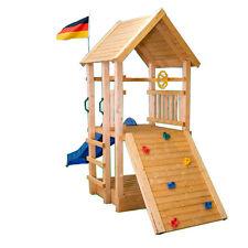 Spielturm Rally Natur Kletterturm Kletterhaus Sandkasten Baumhaus Spielhaus