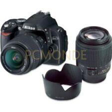 Cámara SLR Nikon D40 D 18-55 mm 3.5-5.6G Ed Ii Af-s Dx + AF-S 55-200 mm 4-5.6G Ed Dx