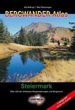 Bergwander-Atlas Steiermark von Max Ostermayer und Adi Mokrejs (2017, Taschenbuch)