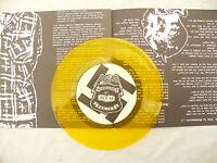 DISRESPECT EP M.P.D. poster sleeve / yellow vinyl N/M 45rpm / punk