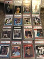 NFL, MLB & NBA Card Lot! 1 CHASE Card Per Lot! 8 Autos/Relics! PSA! High Reward!