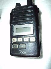 Icom F50v Vhf Portable Radio Tested Free Programming Narrow Fire Pager Murs