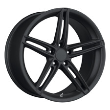 "(2) 18X8 40 5X110 DRAG DR-73 BLACK WHEELS/RIMS 18"" INCH 59815"