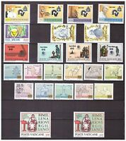 s15545) VATICANO MNH** 1981 Complete Year set 24v