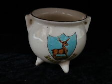 Victoria China Model of a Cauldron with Buxton Crest