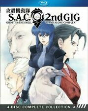 Ghost in The Shell Stand Alone Complex Season 2 Blu-ray Boxed S