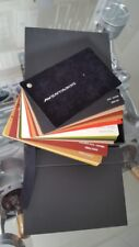 2011 LAMBORGHINI AVENTADOR LP 700-4 LEATHER COLOR SAMPLE SET RANGE *ULTRA RARE*
