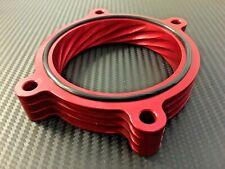 (X732-) RED Throttle Body Spacer 2007 - 2013 GMC YUKON XL 1500 2500 6.0l 6.2l v8